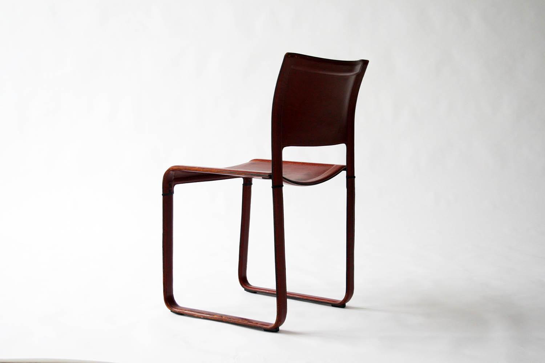Matteo Grassi Sistina Red Leather Chair Designed By Tito Agnoli U2014 CIRCA  MODERN