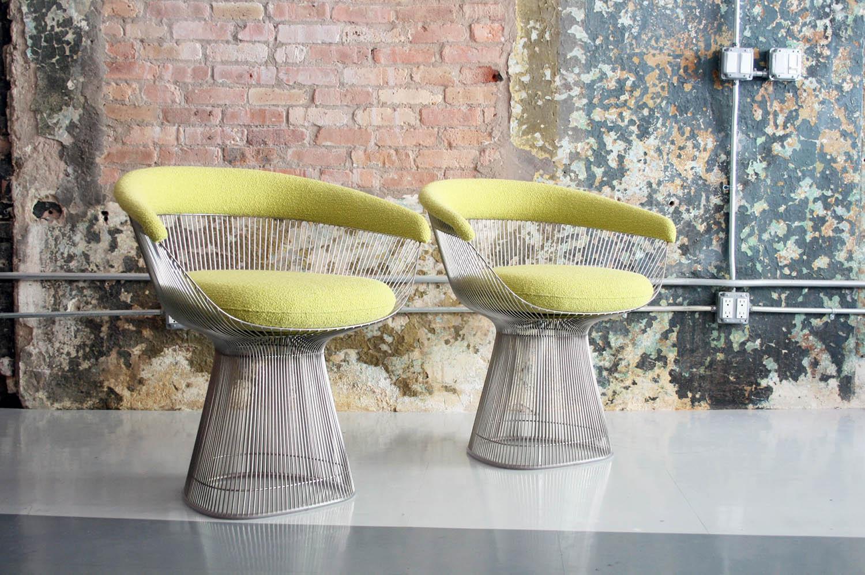 ec9a2721094d Knoll   Warren Platner Dining Chairs — CIRCA MODERN