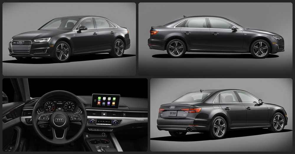 Audi A4 Ultra  $2,000 Total Drive Off / $335 Total Monthly (taxes & fees included | 36 month lease)