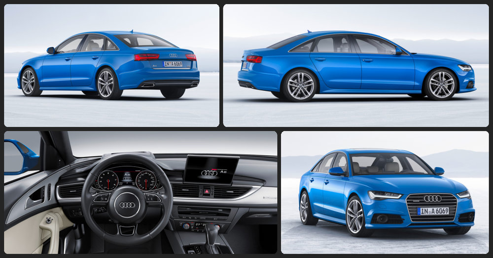 Audi A6 Premium  $500 Total Drive Off / $435 Total Monthly (taxes & fees included | 36 month lease)
