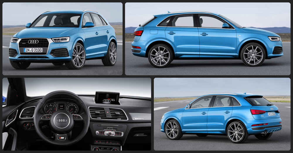 Audi Q3 Premium  $1,500 Total Drive Off / $353 Total Monthly (taxes & fees included   36 month lease)