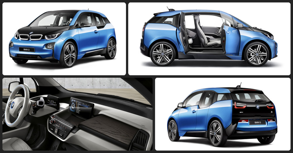 BMW i3 REx  $2,000 Total Drive Off / $500 Total Monthly (taxes & fees included   36 month lease)