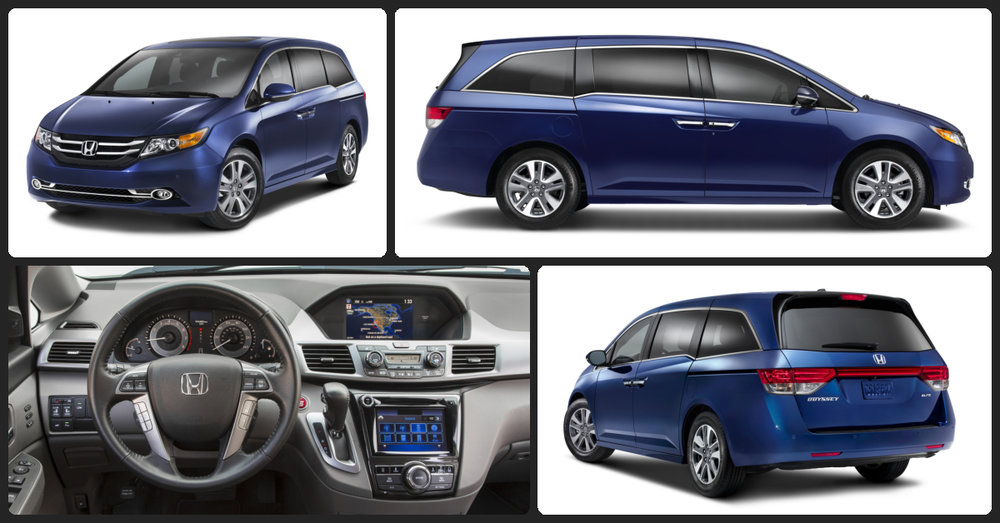 Honda Odyssey EX-L  $0 Total Drive Off / $445 Total Monthly (taxes & fees included | 36 month lease)