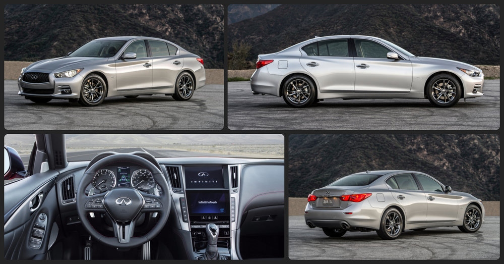 INFINITI Q50 Premium  $0 Total Drive Off / $325 Total Monthly (taxes & fees included   39 month lease)