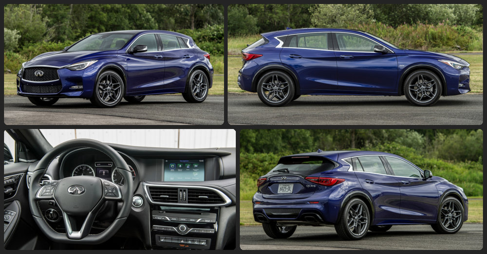 INFINITI QX30 Premium  $0 Total Drive Off / $275 Total Monthly (taxes & fees included   39 month lease)