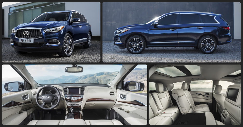 INFINITI QX60 Premium Plus  $2,000 Total Drive Off / $470 Total Monthly (taxes & fees included | 39 month lease)