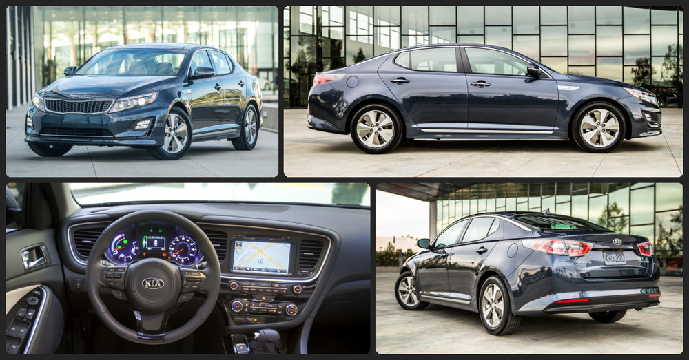 KIA Optima Hybrid EX  $1,000 Total Drive Off / $255 Total Monthly (taxes & fees included   24 month lease)