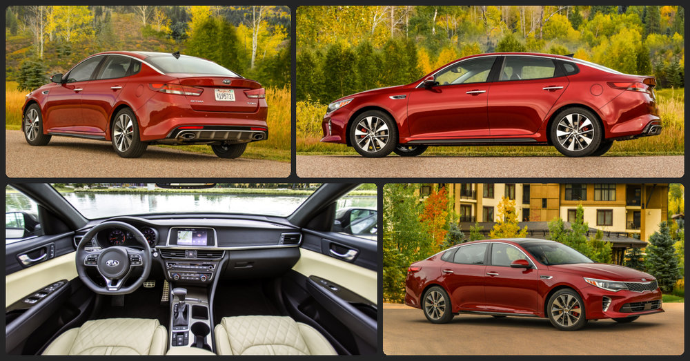 KIA Optima LX  $0 Total Drive Off / $198 Total Monthly (taxes & fees included | 24 month lease)