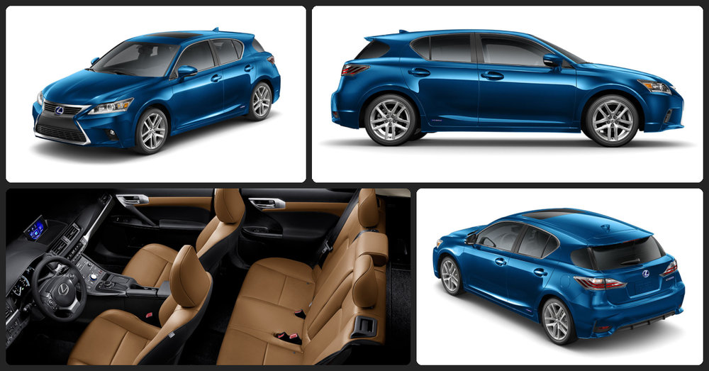 Lexus CT 200h  $0 Total Drive Off / $341 Total Monthly (taxes & fees included   36 month lease)