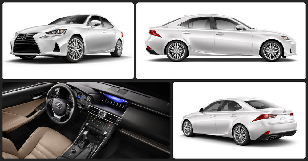 Lexus IS Turbo  $1,000 Total Drive Off / $315 Total Monthly (taxes & fees included | 36 month lease)