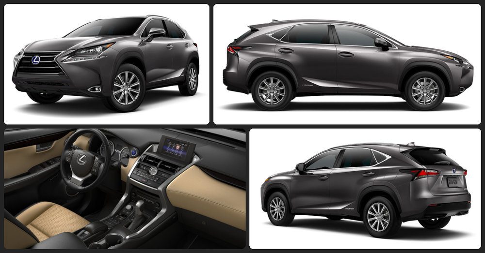 Lexus NX Hybrid  $2,000 Total Drive Off / $455 Total Monthly (taxes & fees included   36 month lease)