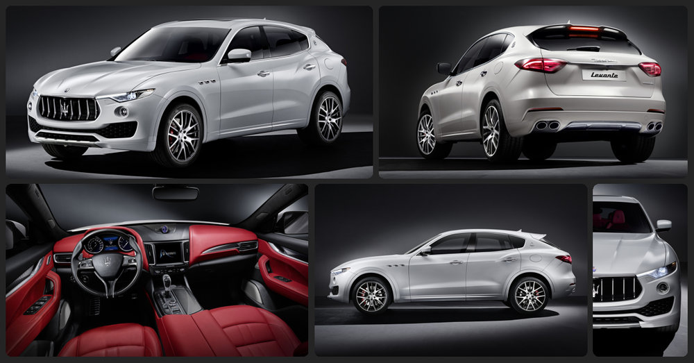 Maserati Levante  $2,500 Total Drive Off / $780 Total Monthly (taxes & fees included   36 month lease)