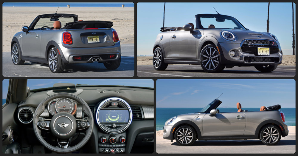 Mini Cooper S Convertible  $1,000 Total Drive Off / $375 Total Monthly (taxes & fees included | 36 month lease)