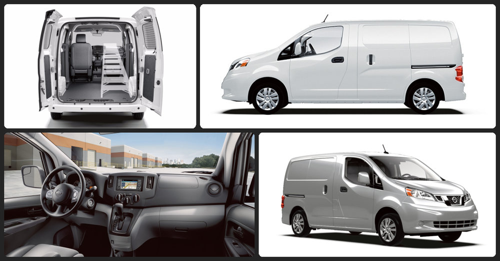 Nissan NV200 S  $1,800 Total Down / $355 Total Monthly (taxes & fees included | 60 month finance)