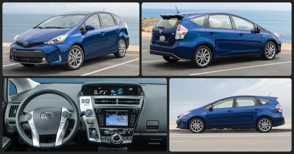 Toyota Prius V Four  $2,000 Total Drive Off / $358 Total Monthly (taxes & fees included   36 month lease)