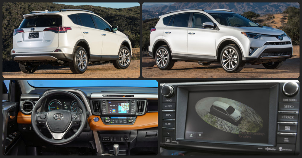 Toyota RAV4 Limited  $1,000 Total Drive Off / $375 Total Monthly (taxes & fees included | 36 month lease)