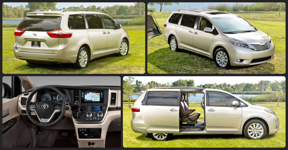 Toyota Sienna XLE Premium  $2,000 Total Drive Off / $395 Total Monthly (taxes & fees included   36 month lease)