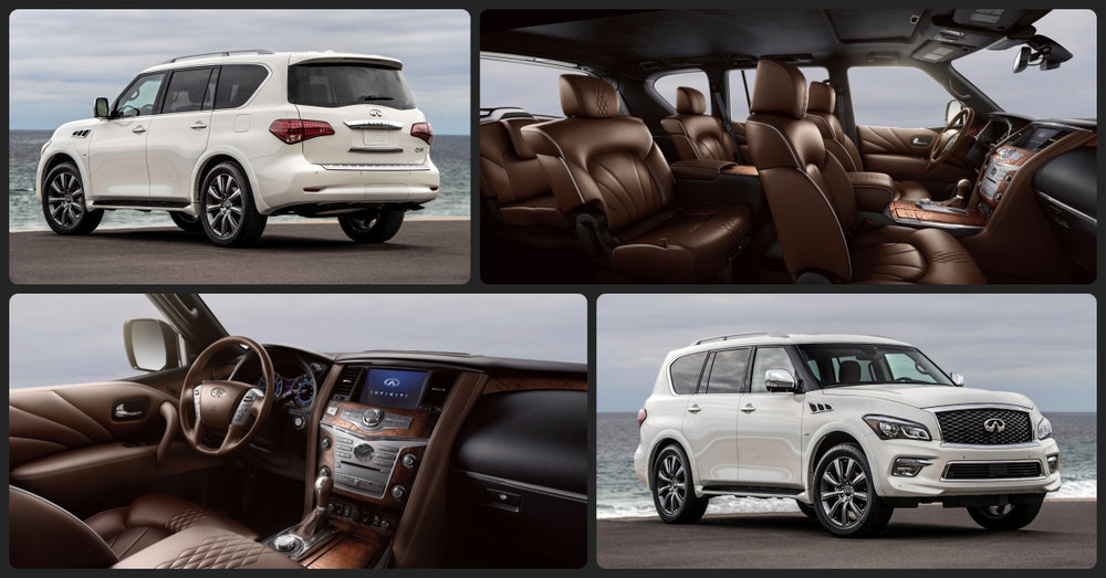 INFINITI QX80 Signature Edition  $3,000 Total Drive Off / $685 Total Monthly (taxes & fees included | 39 month lease)