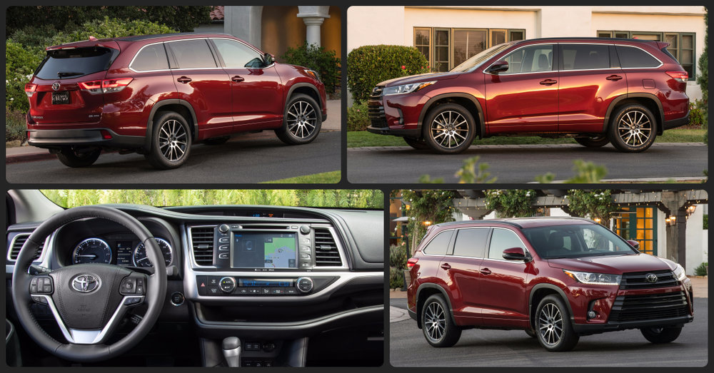 Toyota Highlander SE  $2,000 Total Drive Off / $395 Total Monthly (taxes & fees included | 36 month lease)