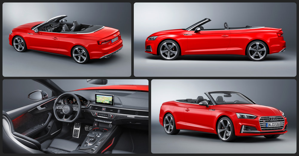 Audi S5 Cabriolet Prestige  $2,500 Total Drive Off / $815 Total Monthly (taxes & fees included   36 month lease)