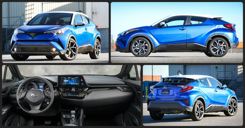 Toyota C-HR XLE  $1,000 Total Drive Off / $245 Total Monthly (taxes & fees included | 36 month lease)