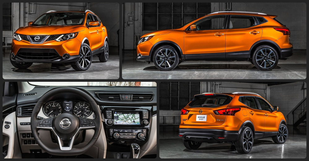 Nissan Rogue Sport S  $1,000 Total Drive Off / $220 Total Monthly (taxes & fees included | 36 month lease)