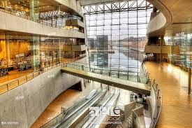Session at Black Diamond Royal Library - The national library of Denmark and the university library of the University of Copenhagen. It is among the largest libraries in the world and the largest in the Nordic countries.