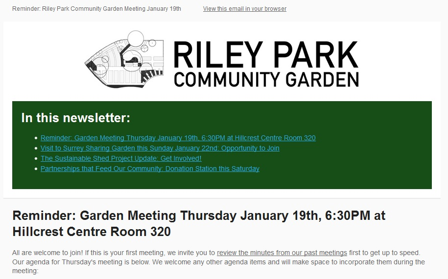 News — Riley Park Community Garden