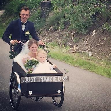 Grattis Gry og Gjermund #låntebortsykkel #christianiabikes #oslo #trondheim #københavn #ogrestenavverden #bryllup #justmarried