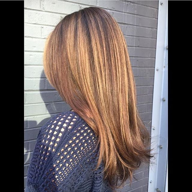 Another #balayage by Elaine! #fallhair #haircolor #ilesformula #hydesalon