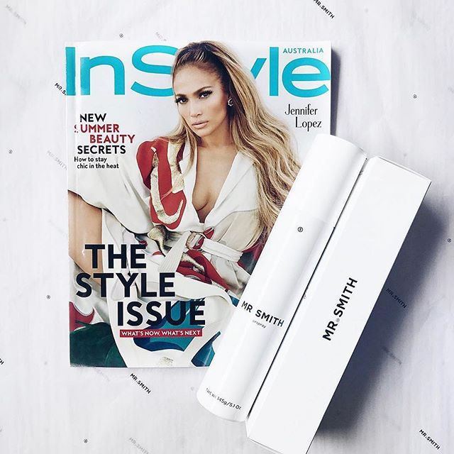 InStyle January 2019 featuring Mr. Smith's Hairspray👏🏼 @instylemag #mrsmithhair #styleandsubstance #instyle #hairspray #vegan #australianmade #hydesalon