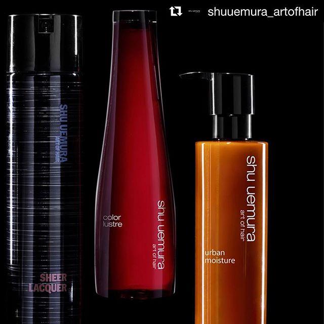@shuuemura_artofhair now available @hydesalon 👏🏼👏🏼👏🏼
