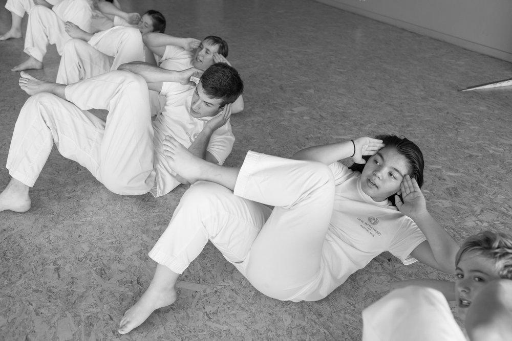 Teens Pukulan Kung Fu