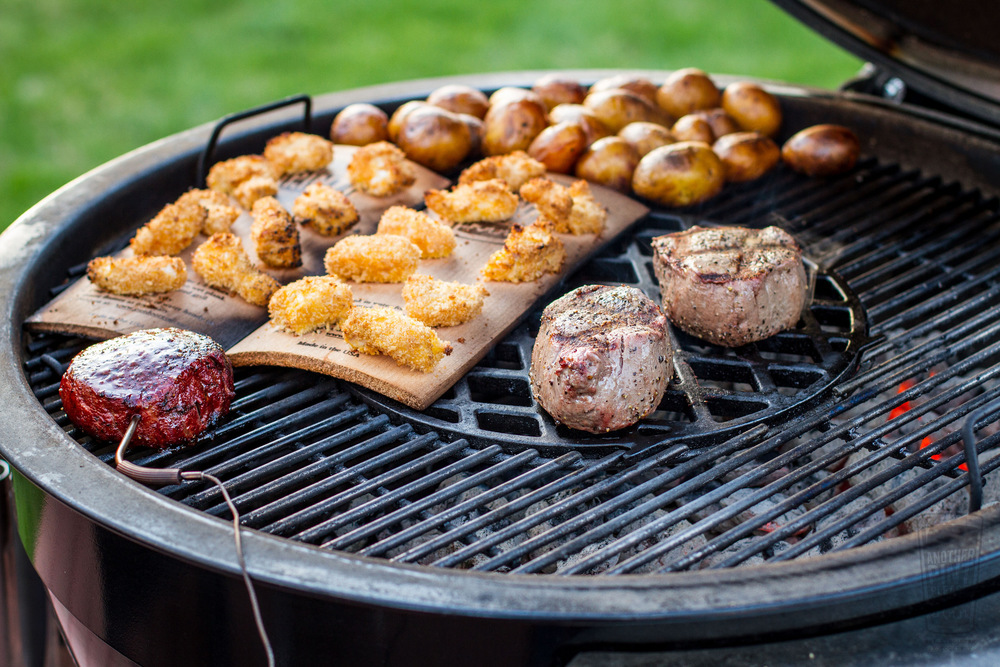 Dinner on the Weber Summit Charcoal Grill.jpg