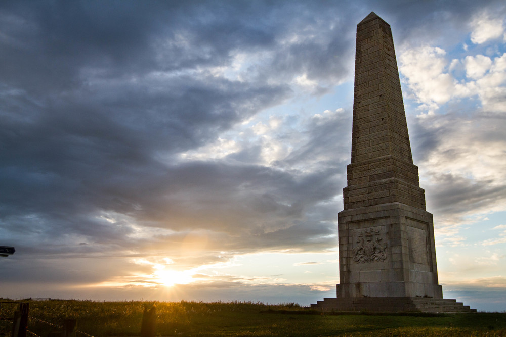 Monument on Culver Downs