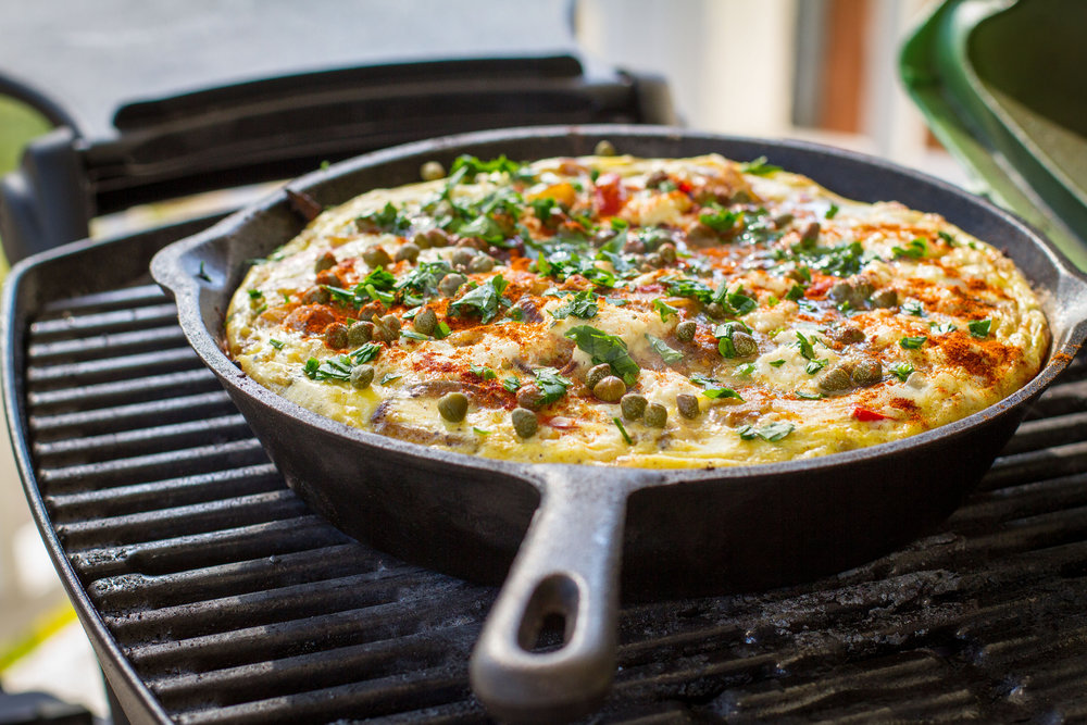 Frittata on the Weber Q.jpg
