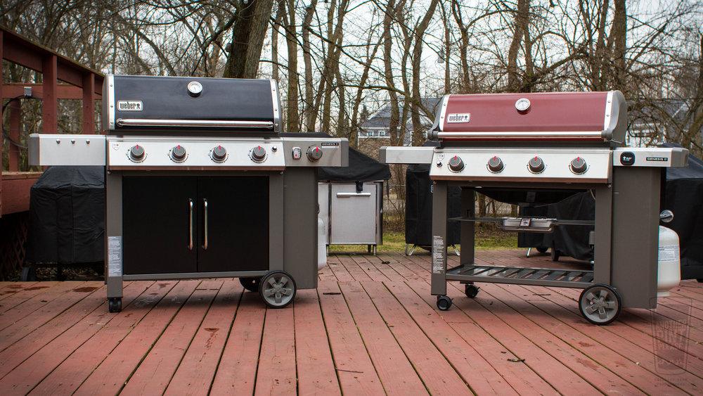 Weber Genesis II Grill and Weber Genesis II LX.jpg