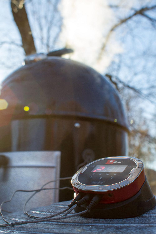 iGrill & Weber Smokey Mountain Cooker.jpg