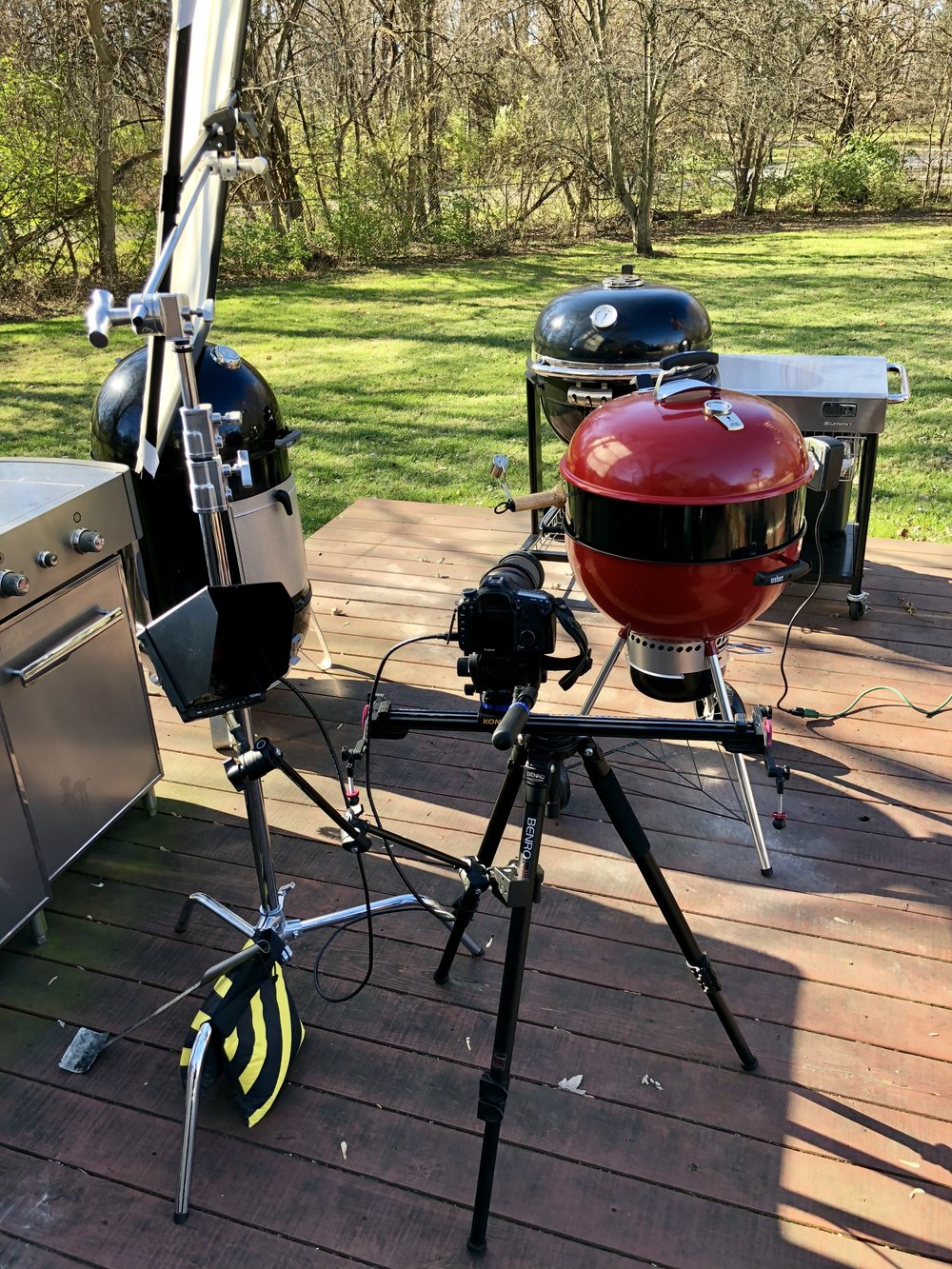 filming video of weber grill kettle.jpg
