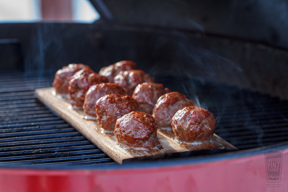 Planked Meatballs