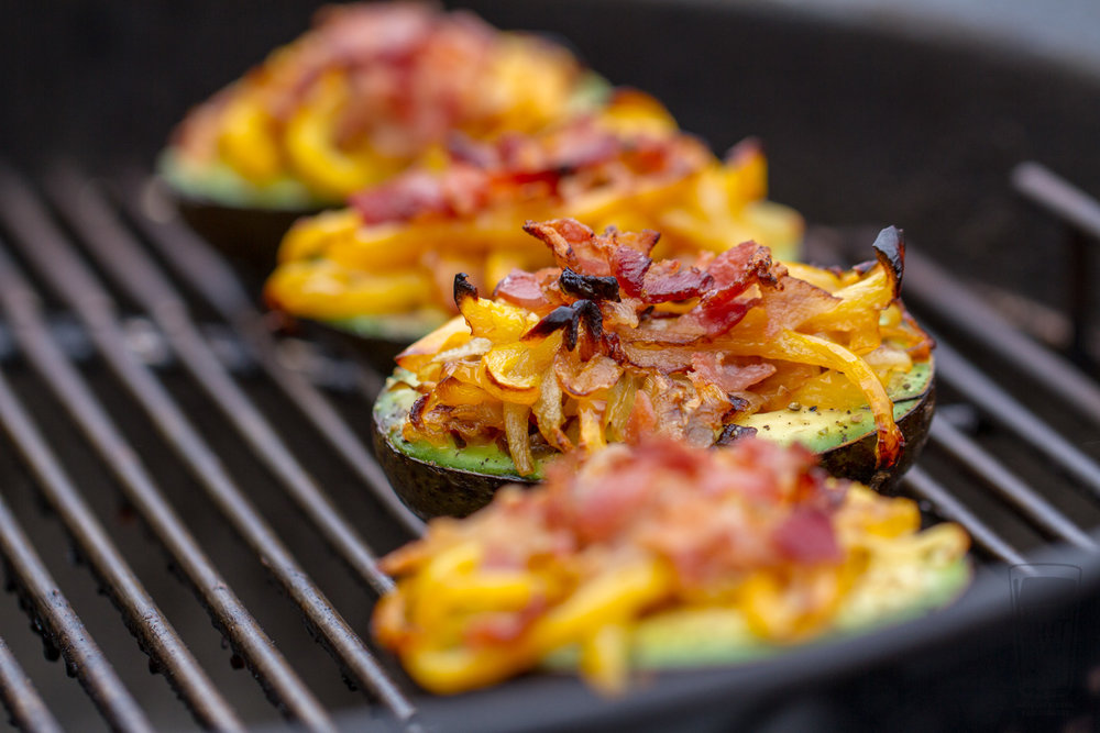 Grilled Stuffed Avocados