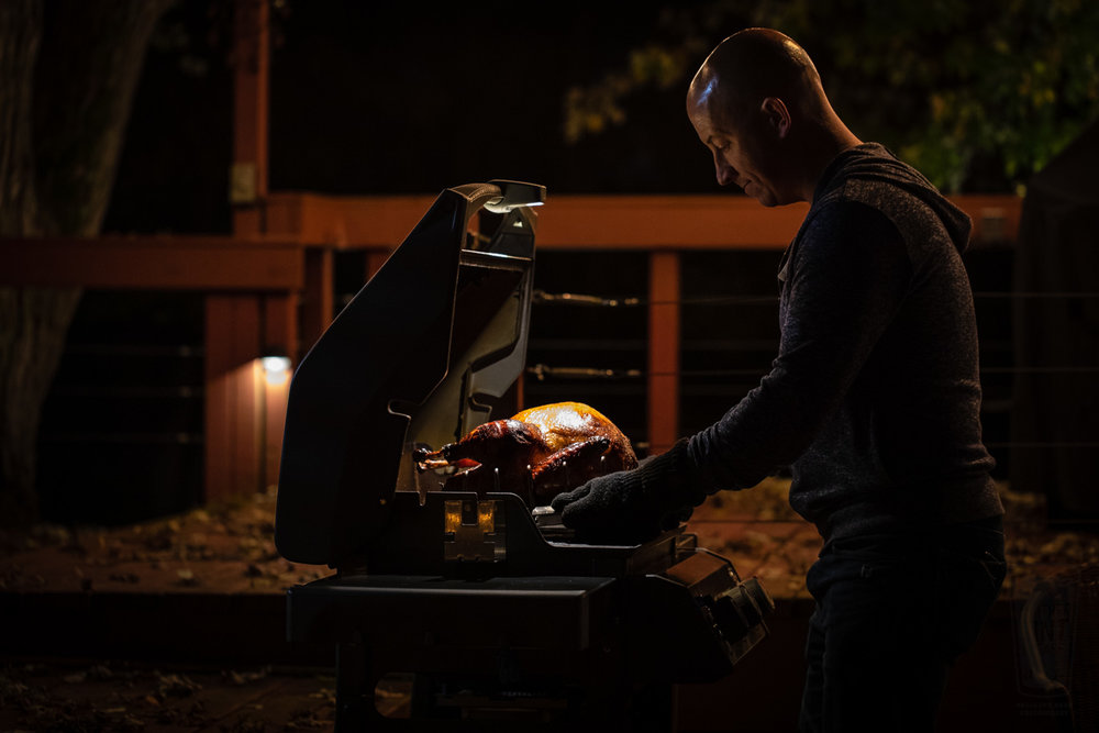 Spirit II light with Turkey at night