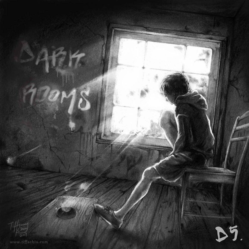 Dark Rooms album cover.