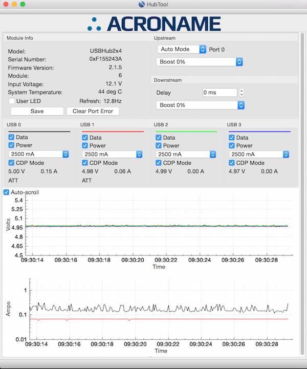 Acroname Hub Tool GUI