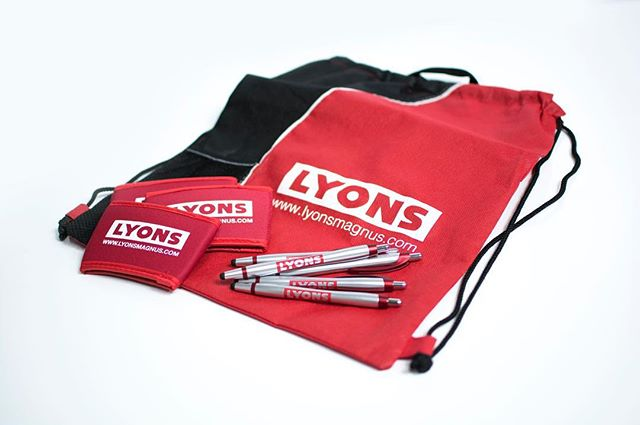 We are so thankful to have had the opportunity to make promotional products for Lyons Magnus. They had their biggest trade show of the year and said their branded products were a hit! The new website will be up very soon, so you will be able to read more details about this awesome customer! #artisnotextinct