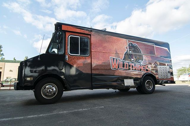 If you're a Fresno Grizzlies fan, chances are you've come in contact with one of our past projects, the Wild Things food truck. We were given the challenge to wrap this behemoth in time for its unveiling back in April. Next time you catch a Grizzlies game, be sure to check out their awesome menu!