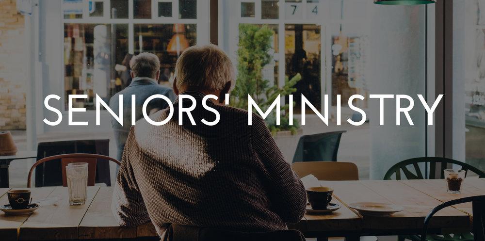 Seniors'Ministry || 55+