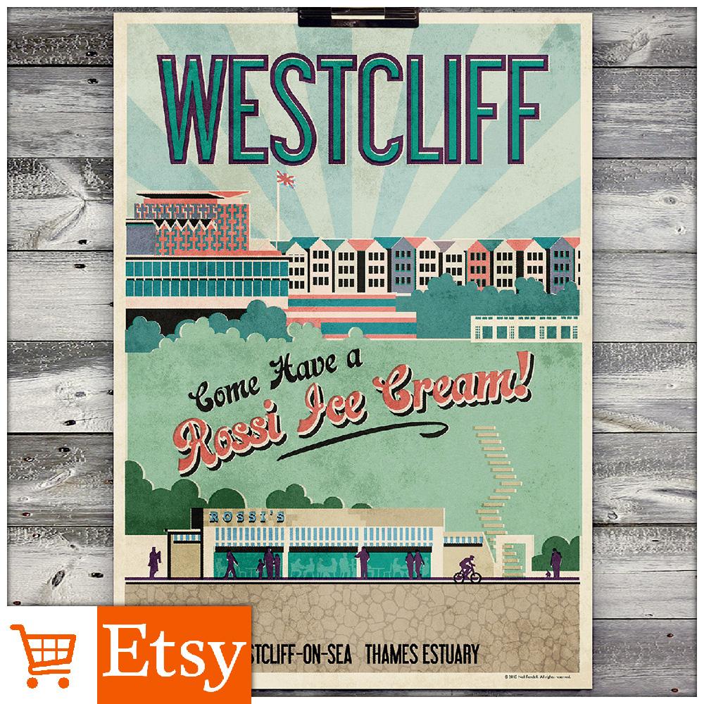 Westcliff - A2 & A4 Poster