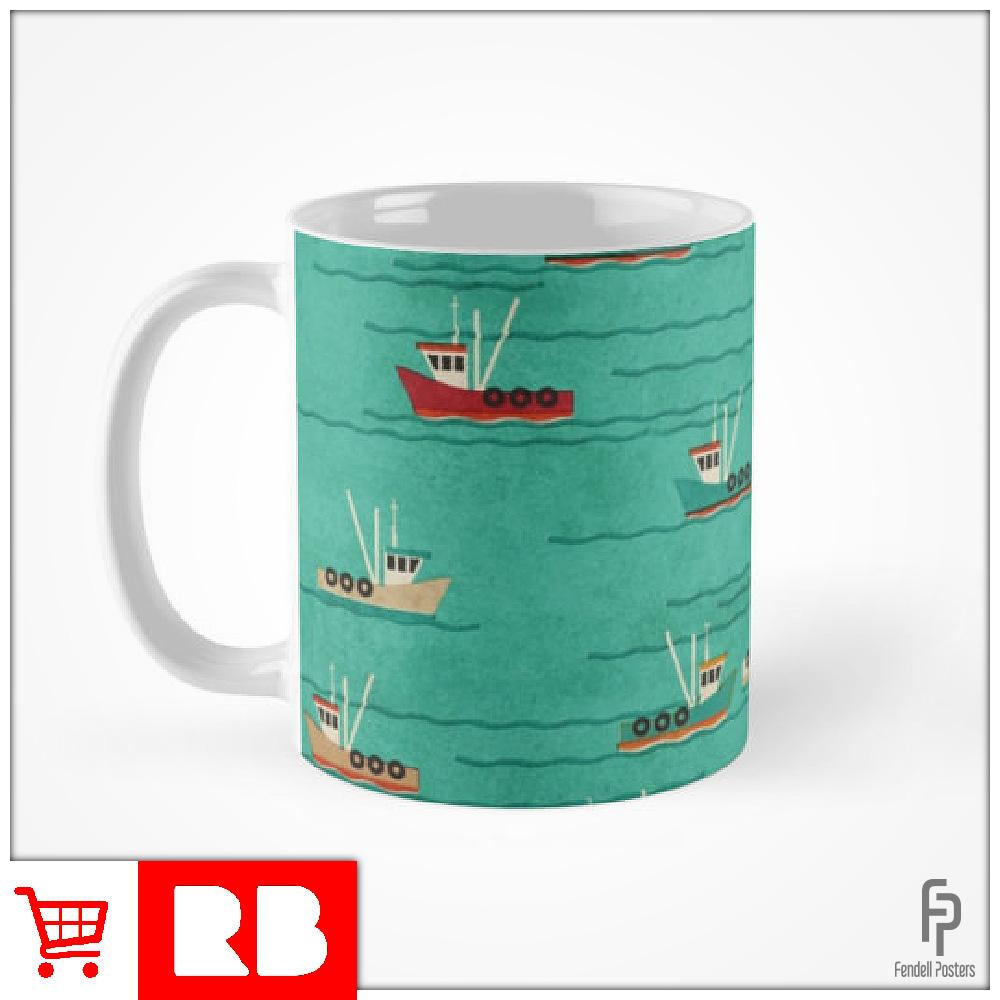 Leigh Fishing Trawlers - Mugs