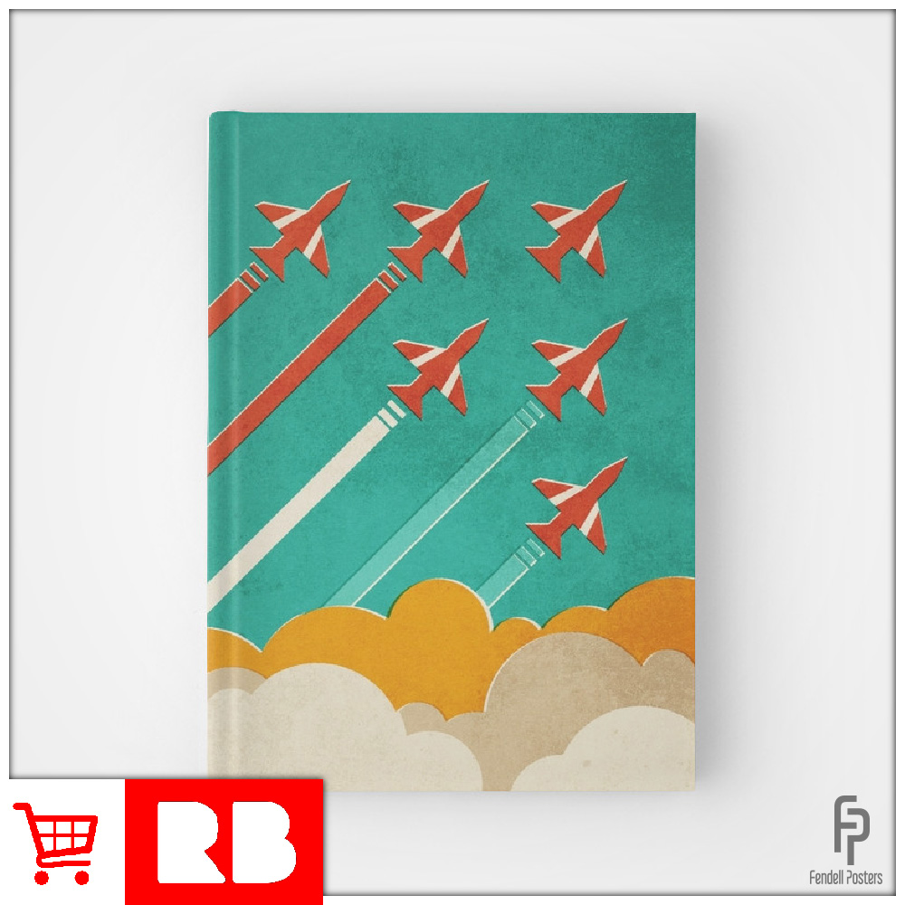 Red Arrows - Hardcover Journal
